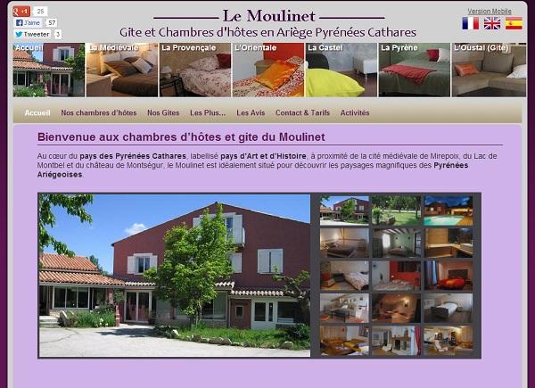 Le Moulinet, Léran