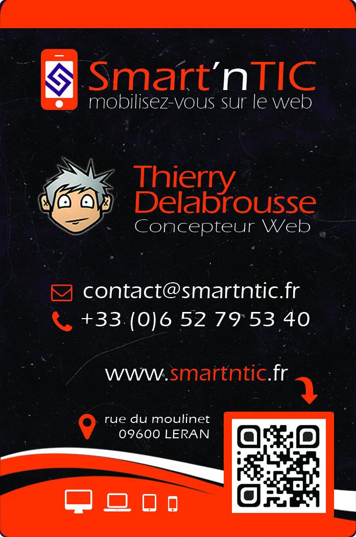 Thierry Delabrousse - Concepteur Web @ Smart'nTIC